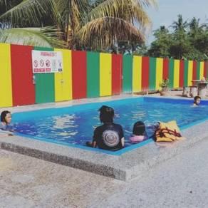 Alor gajah homestay dgn swimming pool