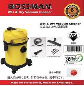 BOSSMAN BWD-18L1 Wet&Dry Vacuum Cleaner 18L 1200w