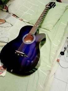 Acoustic Guitar-Mukitha Purple