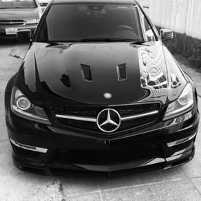 Mercedes W204 C63 Edition 507 Front Hood Bonnet