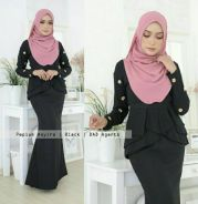Peplum Asyira Pleated