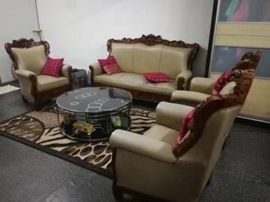 Sofa kayu jati asli