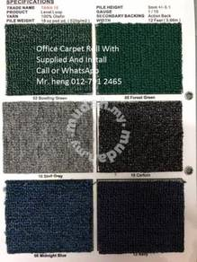 New Design Carpet Roll - with Install 808789789