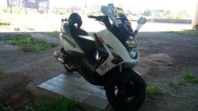 2011 Sym Vts 200 untuk dijual