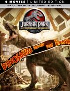 Jurassic Park Collection 4K UHD + Blu ray