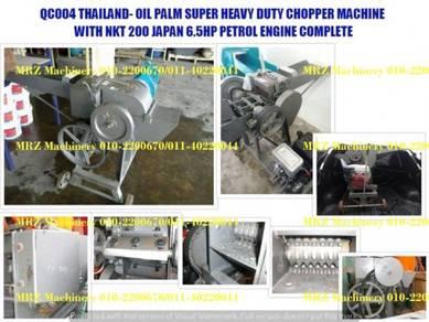 Oil palm super heavy duty chopper machine 6.5hp
