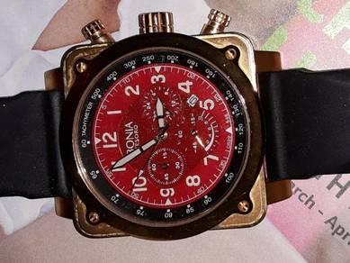 Bonia luxury rose gold watch