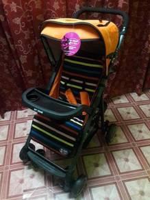 Baby Stroller 18095 - Orange