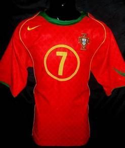 Portugal EURO 2004 Luis Figo Home jersey L