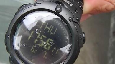 New digital compass watch original movement