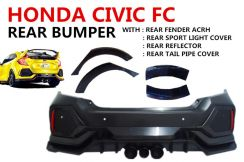 Civic FC TYPE R Rear Bumper Reflector Fender Acrh