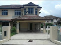 Bandar Laguna Merbok Large Land, Facing Road Double Storey