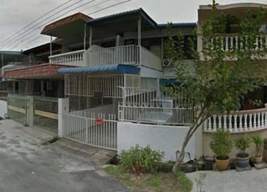 Double storey terrace house, Raja Uda