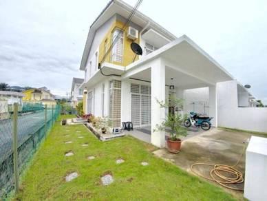 0% DEPOSIT Double storey end lot tamu hill park batang kali 34'x65'