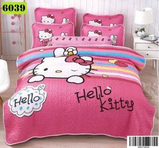 Cadar Cartoon 6 in 1 Bedsheet Patchwork - 105