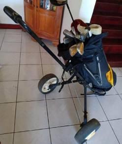 Orginal perry gear complete golf set