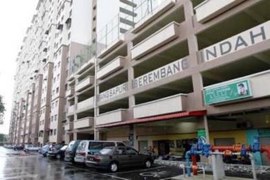 Berembang Indah 3R2b only rent 1K ,Jalan Ampang,near Jelatek LRT