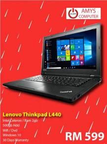 Lenovo Thinkpad L440 2GB Ram 500GB Hdd Free Bagpac