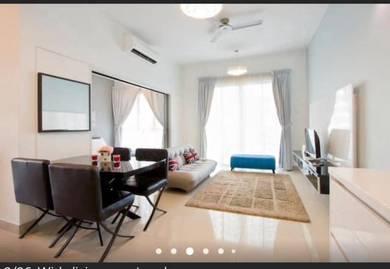 Danga Bay Tropez Residence Apartment CORNER UNIT FULLY FURNISHED RENOV