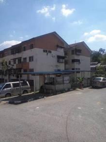 HOT SALE, Tingkat 1. Bwh Market Value, Flat Seri Ria. Langat