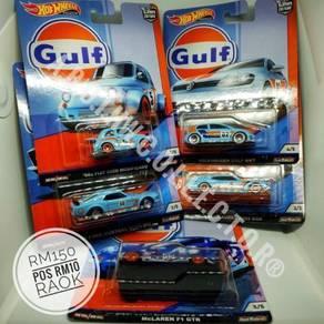 Hotwheels Gulf Set