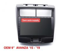 Toyota avaza OEM android player