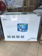 HFZ288GT Top Glass Freezer 250L Aiskrim good