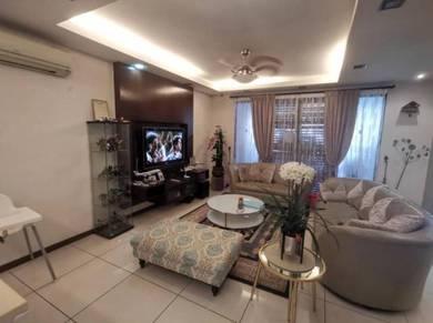 Double story cahaya spk, shah alam(renovated & nice unit)