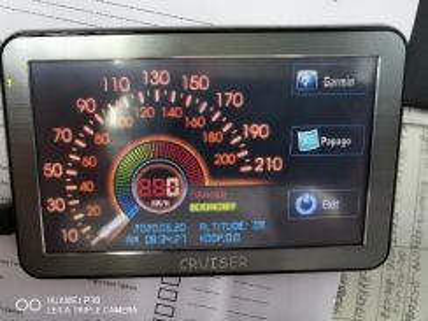 Cruiser Garmin GPS 5in touch screen