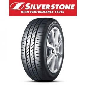 Silverstone New Tayar Tyre Tire Baru 195-55-15