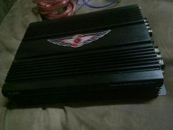 Power amp 2 channel .