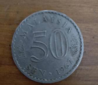 Syiling/Coin 50sen