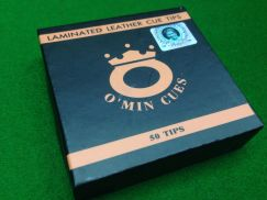 Brand New Omin Snooker Cue Tips 11mm