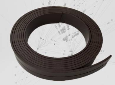 Strong soft rubber magnet stripe 15X2