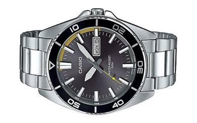 Casio Men Day Date Luminous Hand Watch MTD-120D-8A