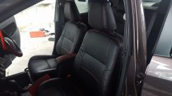 RENMARK Perodua BEZA Half Leather Seat Cover