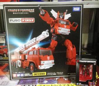 Transformers MP-33 MP33 Inferno + Gifts