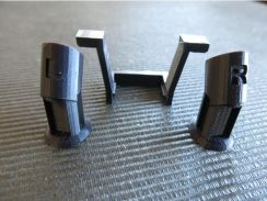 3DP DJI Mavic Pro Foot Extensions & Rear Foot