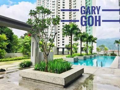 Melody Homes 700sqft Near BL Garden 2 Carparks Kek Lok Si View