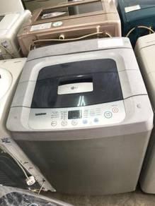 7kg Washer Clean Basuh LG Washing Machine Mesin