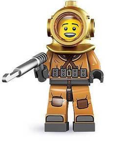 LEGO 8833 Minifigures Series 8 Deep Ocean Diver