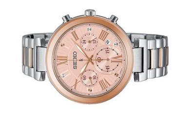 Seiko LUKIA Ladies Chronograph Watch SRW788P1