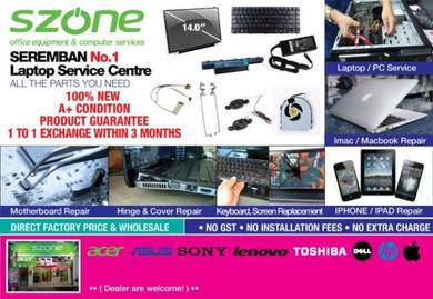 Seremban No1 Laptop & Notebook Service Centre