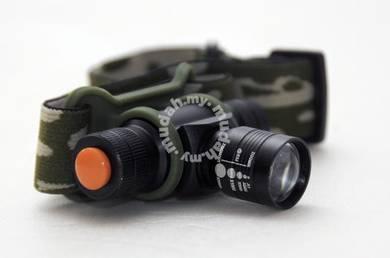 Army Rechable Headlam (white light )