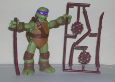 Teenage Mutant Ninja Turtles set of 4