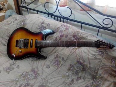 '11 Washburn RX-25 FVSB Electric Guitar