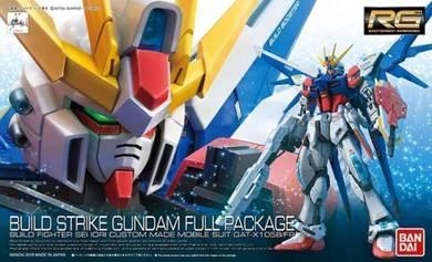 RG Bandai BUILD STRIKE GUNDAM FULL PACKAGE