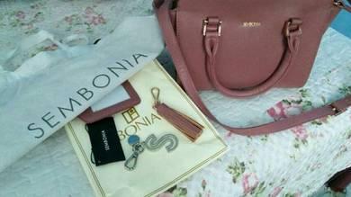 Handbag sembonia leather original