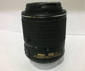 Nikon AFS DX 55-200mm f4-5.6G