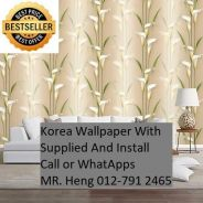 3D Korea Wall Paper with Installation oik9